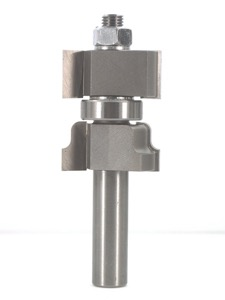 "Whiteside 6050 Window Sash Router Bit 1-3/8"" Cutting Diameter 7/8"" to 1-5/8"" Cut Length 1/2"" Shank 2 Flute"