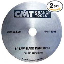 "CMT Saw Blade Stabilizer for 10"" Blades (2 per pack)"
