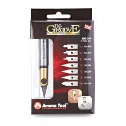 "Amana AMS-209 In-Groove CNC Engraving Kit 1/2"" Shank"