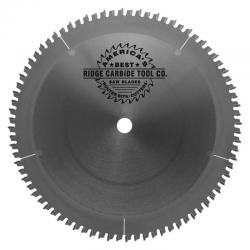 "Ridge Carbide 10"" 80T Hi-ATB Melamine/Plywood Saw Blade 5/8"" Bore"