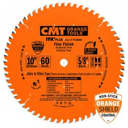 "CMT 10"" 60T Industrial Thin Kerf-Plus Finishing Saw Blade5/8"" Bore"