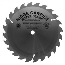 "Ridge Carbide 10"" 24T Ripping Saw Blade 5/8"" Bore"